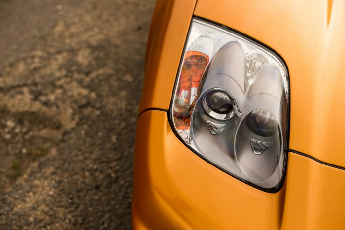 2005 Honda NSX - Imola Orange - Headlight - carwitter