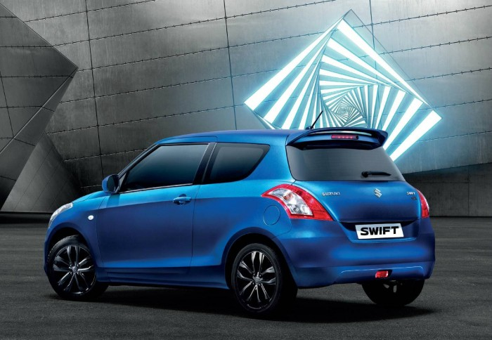 2016 Suzuki Swift SZ-L Special Edition - Rear Angle - carwitter
