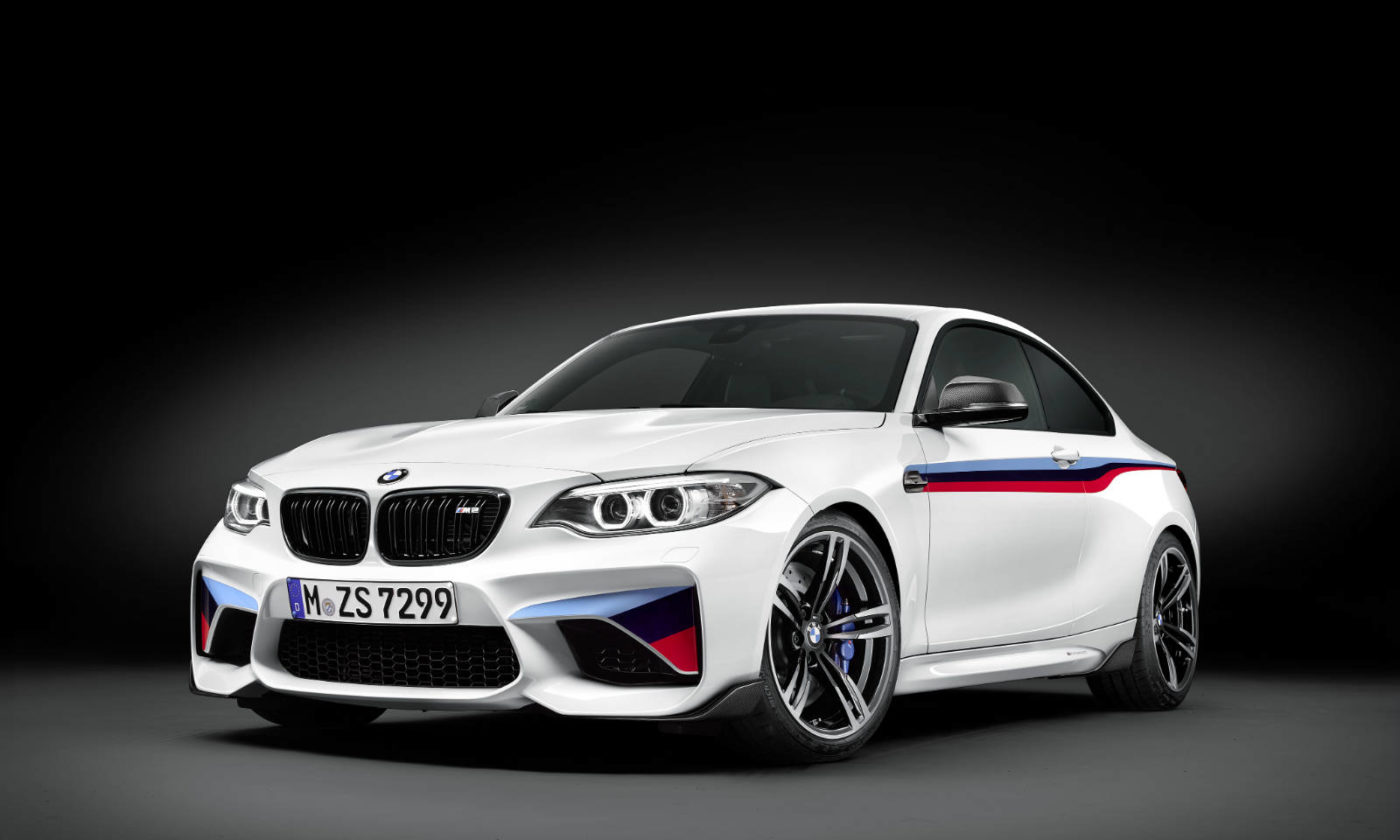 BMW M2 Performance Parts Front Angle carwitter 1400x840 - BMW M2 gets a range of performance parts - BMW M2 gets a range of performance parts