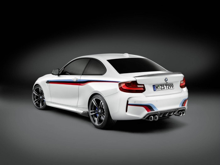 BMW M2 Performance Parts - Rear Angle - carwitter