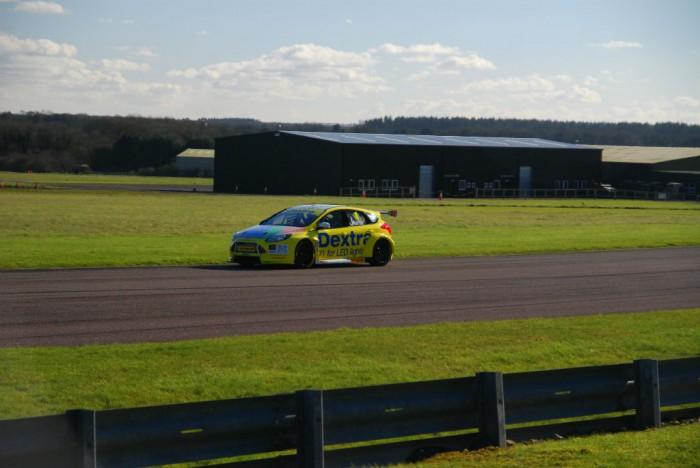 BTCC 16 Test Thrux Dextra Ford Focus