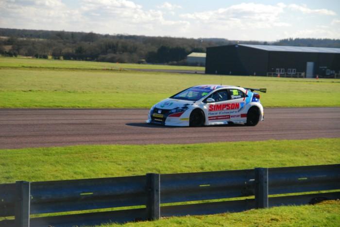 BTCC 16 Test Thrux Simpson Honda 1