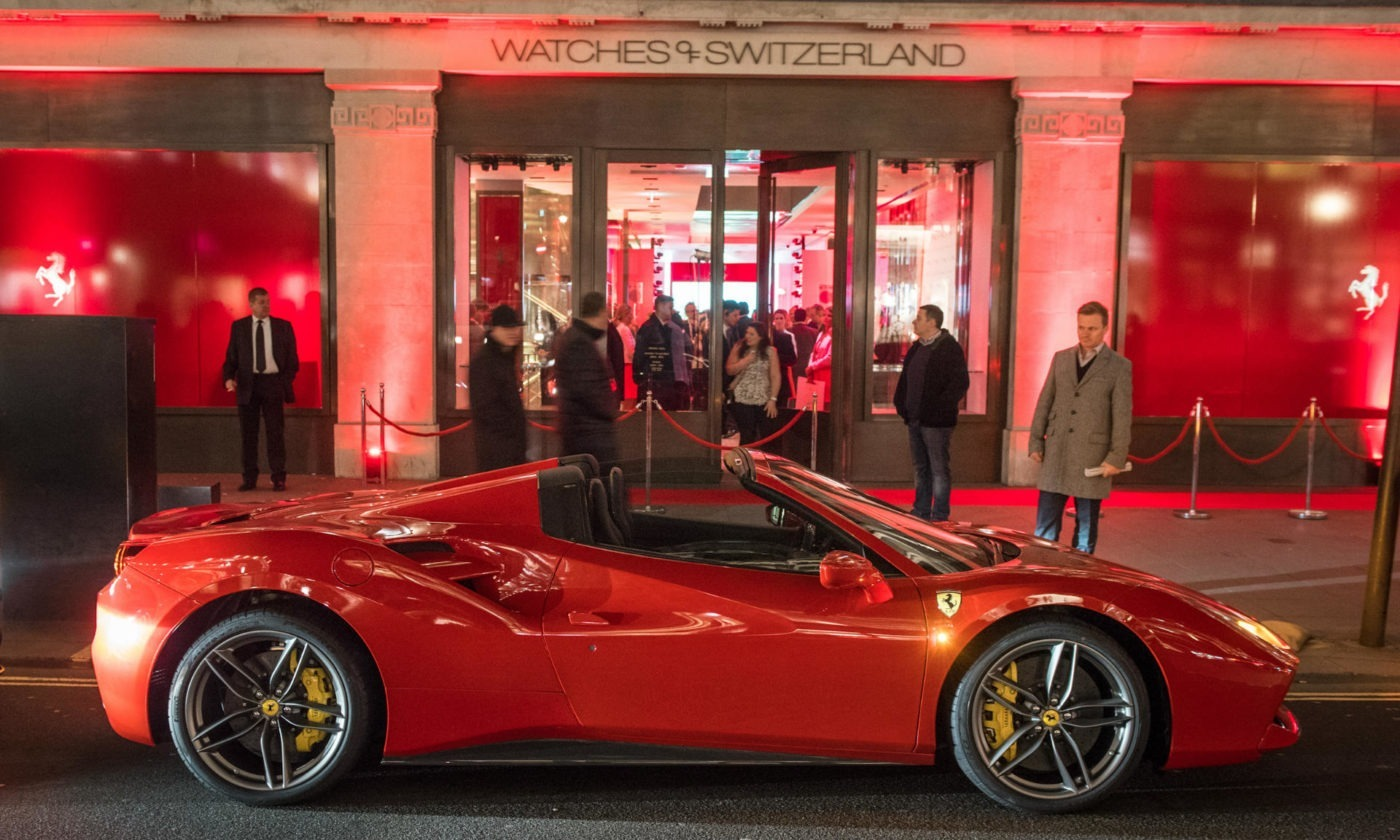 Ferrari 488 Spider London Side WOS carwitter 1400x840 - Top 10 Cars Footballers Own – What do The Best Players Like to Drive? - Top 10 Cars Footballers Own – What do The Best Players Like to Drive?