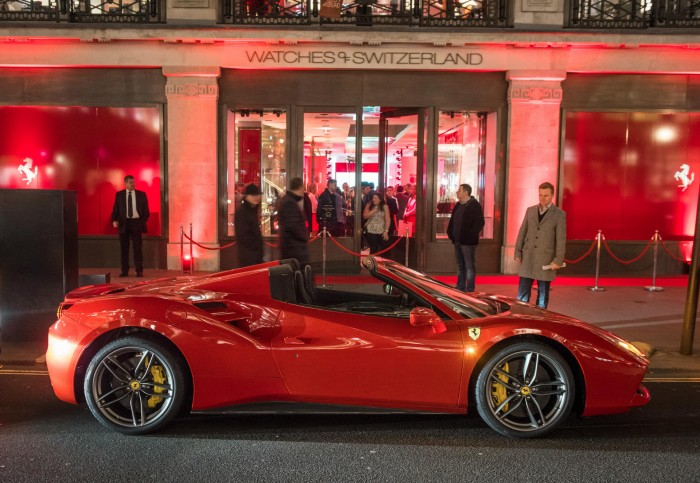 Ferrari 488 Spider London Side WOS carwitter 700x483 - Top 10 Cars Footballers Own – What do The Best Players Like to Drive? - Top 10 Cars Footballers Own – What do The Best Players Like to Drive?