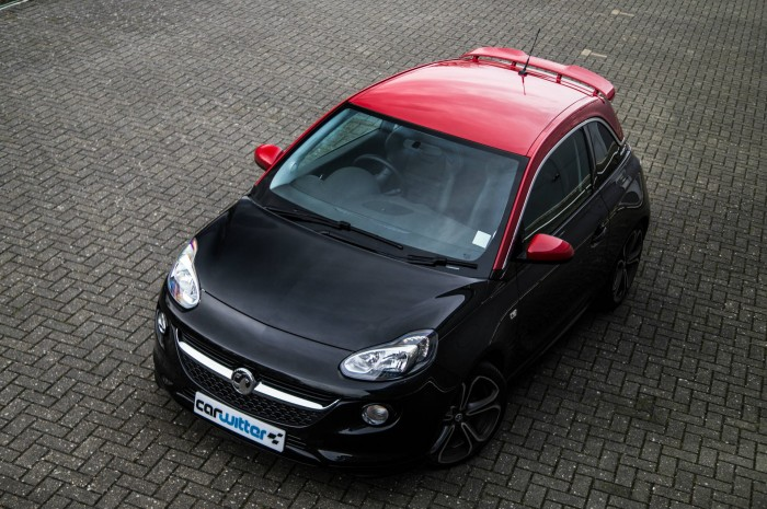 Vauxhall ADAM S Review - Above - carwitter