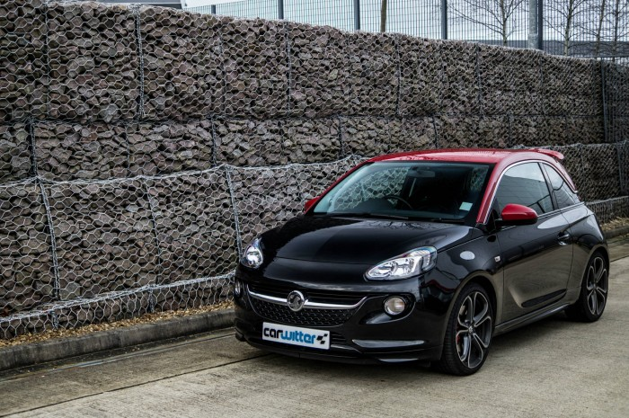 Vauxhall ADAM S Review - Front Angle - carwitter