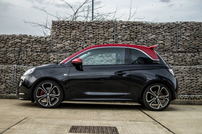 Vauxhall ADAM S Review - Side - carwitter