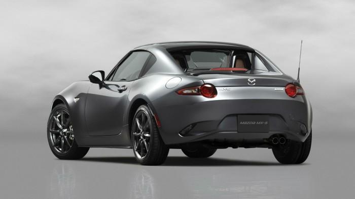 2016 Mazda MX-5RF - Rear Angle - carwitter