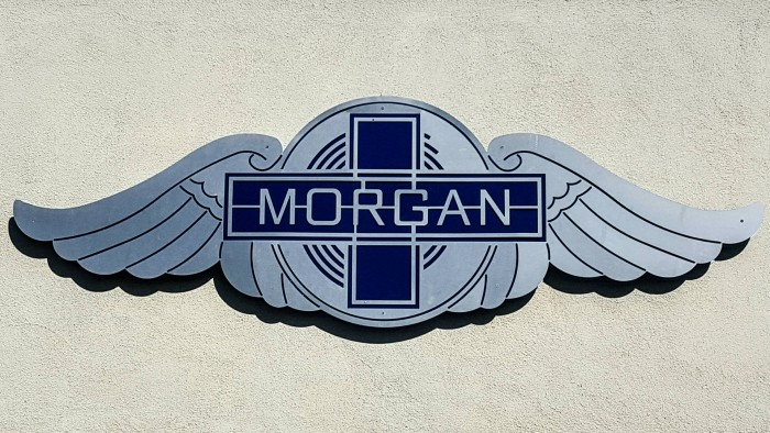 2016 Morgan 3 Wheeler USA Review - Los Angeles Dealership Sign - carwitter
