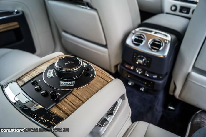 2016 Rolls Royce Ghost Series 2 Review Rear Seat Controls carwitter 700x465 - 2015 Rolls Royce Ghost Series 2 Review - 2015 Rolls Royce Ghost Series 2 Review