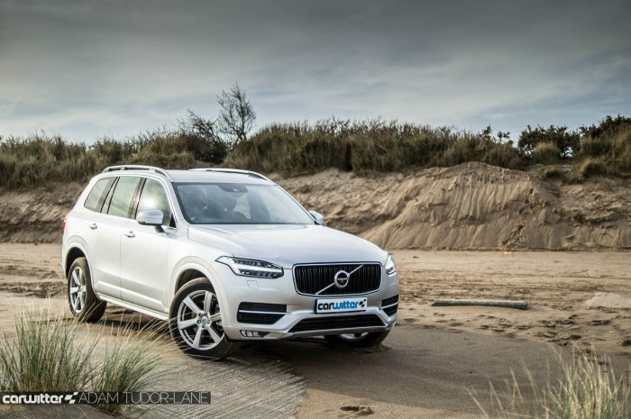 2016 Volvo XC90 D5 Review Front Angle Beach carwitter 700x465 - 2016 Volvo XC90 D5 Review – The future - 2016 Volvo XC90 D5 Review – The future