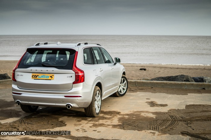 2016 Volvo XC90 D5 Review Rear Angle Scene carwitter 700x465 - 2016 Volvo XC90 D5 Review – The future - 2016 Volvo XC90 D5 Review – The future