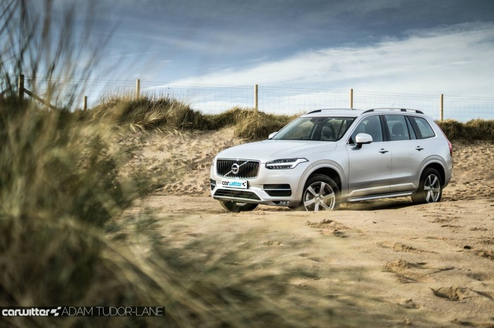 2016 Volvo XC90 D5 Review Scene Beach 2 carwitter 700x465 - 2016 Volvo XC90 D5 Review – The future - 2016 Volvo XC90 D5 Review – The future