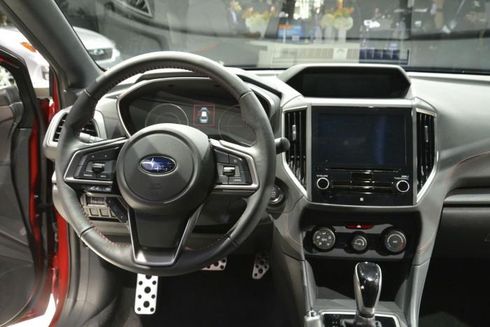 2017 Subaru Impreza - Dashboard Interior - carwitter