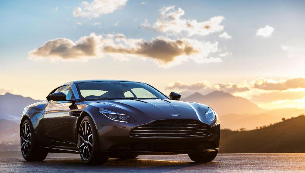 Aston Martin DB11 Front - Aston Martin Reveal The DB11 - Aston Martin Reveal The DB11