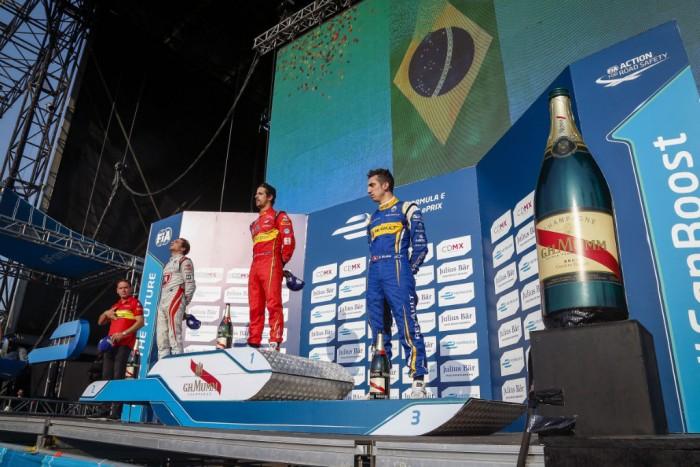 Formula E - Mexico City - Podium