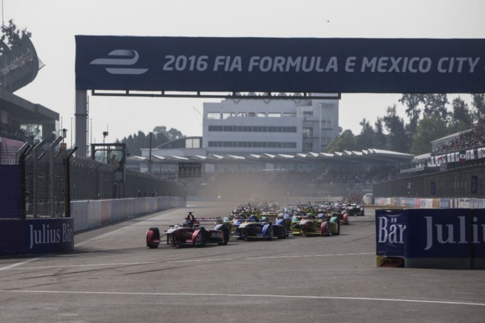 Formula E - Mexico City - Start