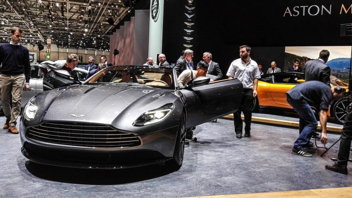 Geneva Motor Show 2016 Aston Martin DB11 Front Grey carwitter 700x393 - Geneva International Motor Show 2016 - A Round Up - Geneva International Motor Show 2016 - A Round Up