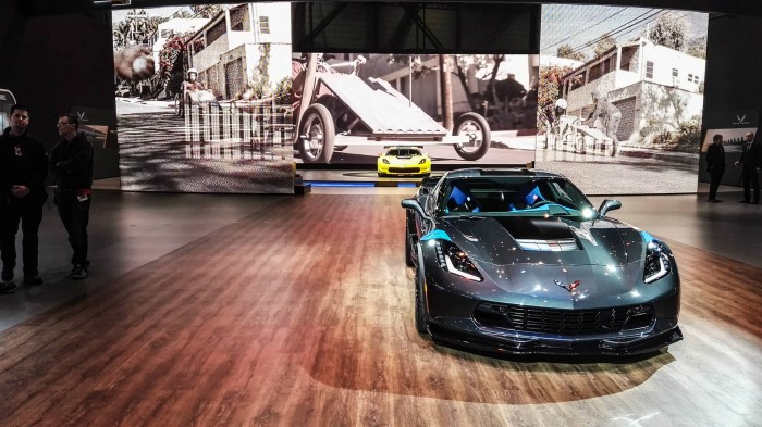 Geneva Motor Show 2016 Chevrolet Corvette Grand Sport Front Scene carwitter 700x393 - Geneva International Motor Show 2016 - A Round Up - Geneva International Motor Show 2016 - A Round Up