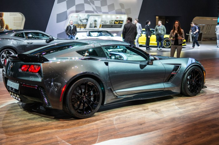 Geneva Motor Show 2016 Chevrolet Corvette Grand Sport Side carwitter 700x465 - Geneva International Motor Show 2016 - A Round Up - Geneva International Motor Show 2016 - A Round Up