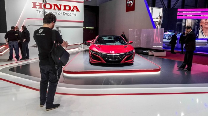 Geneva Motor Show 2016 Honda NSX carwitter 700x393 - Geneva International Motor Show 2016 - A Round Up - Geneva International Motor Show 2016 - A Round Up