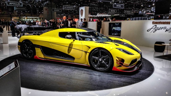 Geneva Motor Show 2016 Koenigsegg Agera RS carwitter 700x393 - Geneva International Motor Show 2016 - A Round Up - Geneva International Motor Show 2016 - A Round Up