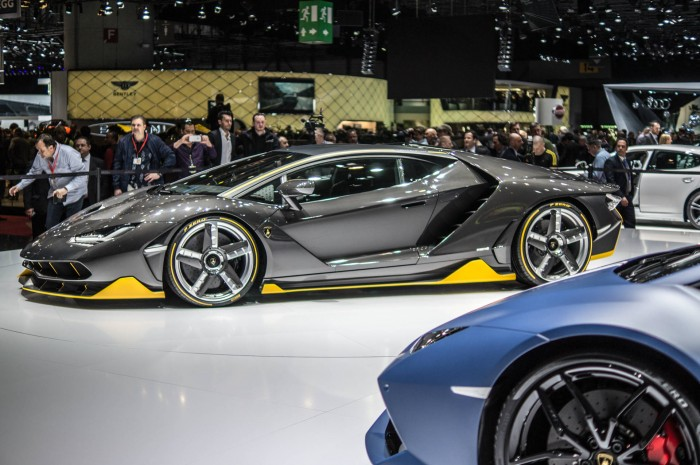 Geneva Motor Show 2016 Lamborghini Centenario Side Scene carwitter 700x465 - Geneva International Motor Show 2016 - A Round Up - Geneva International Motor Show 2016 - A Round Up