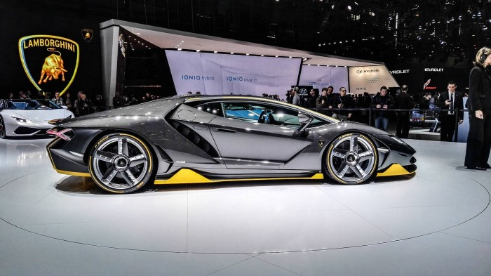 Geneva Motor Show 2016 Lamborghini Centenario Side carwitter 700x393 - Geneva International Motor Show 2016 - A Round Up - Geneva International Motor Show 2016 - A Round Up
