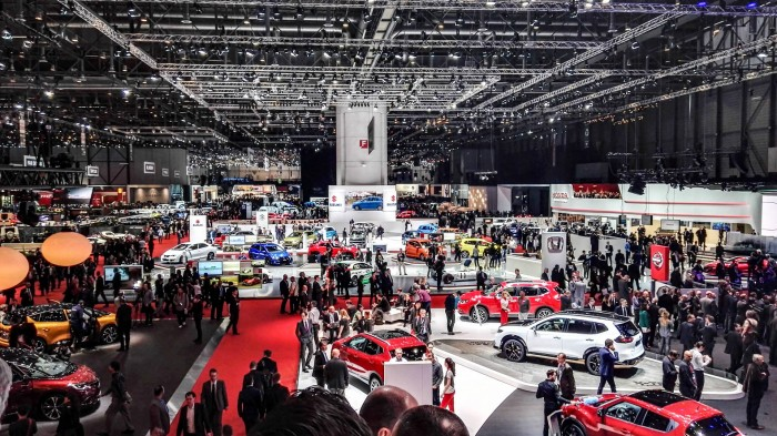 Geneva Motor Show 2016 Show Stands Floor carwitter 700x393 - Geneva International Motor Show 2016 - A Round Up - Geneva International Motor Show 2016 - A Round Up