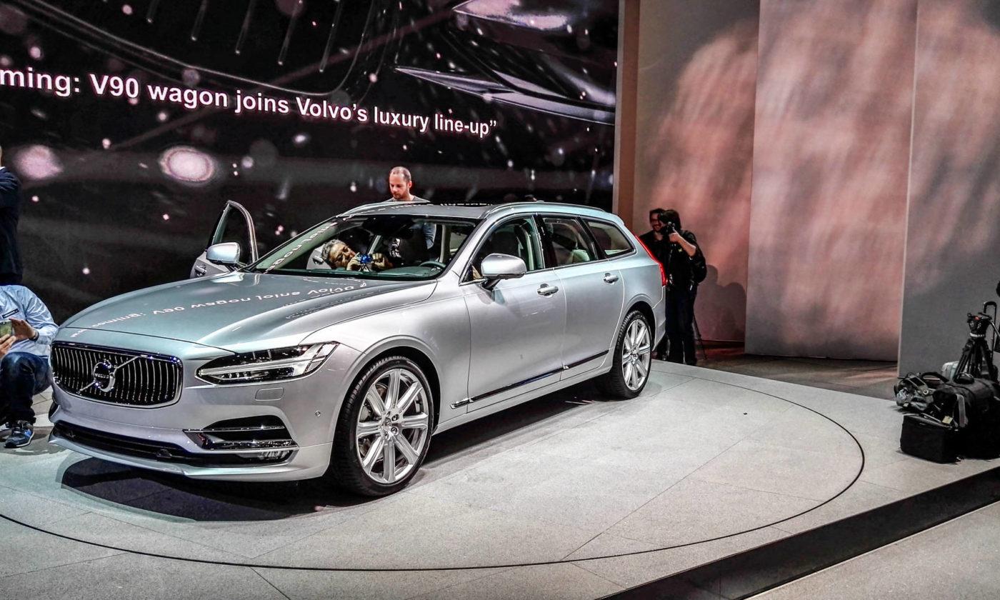 Geneva Motor Show 2016 Volvo V90 Wagon carwitter 1400x840 - Next gen Volvo S90 and V90 UK price & spec announced - Next gen Volvo S90 and V90 UK price & spec announced
