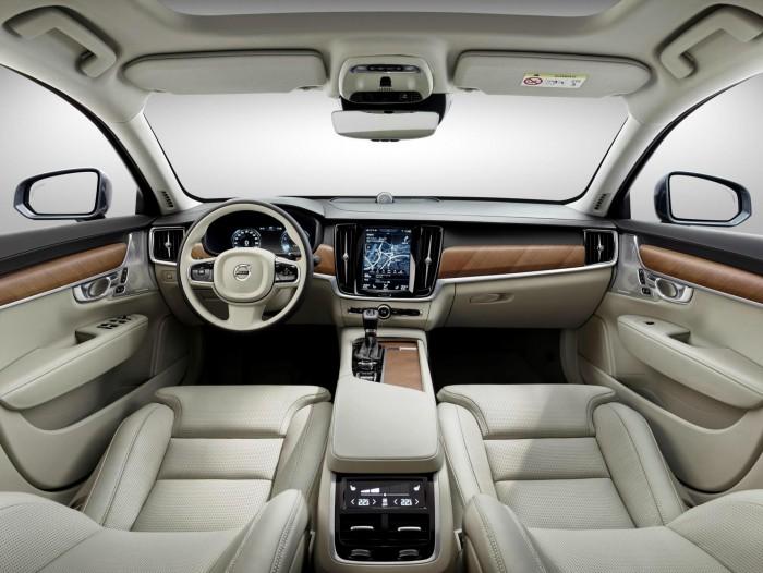 Interior Blond Volvo S90 V90 - carwitter