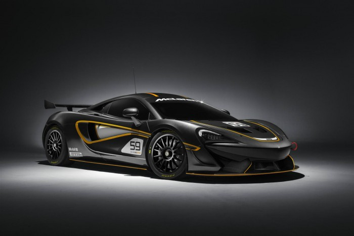 McLaren 570S GT4 - Front Angle - carwitter