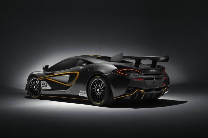 McLaren 570S GT4 - Rear Angle 2 - carwitter