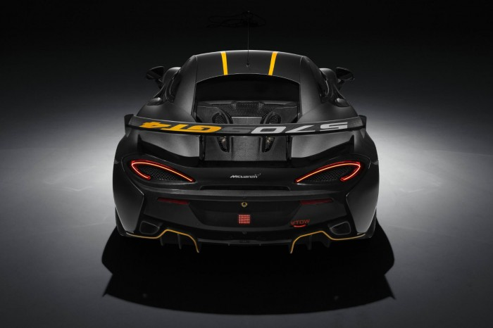 McLaren 570S GT4 - Rear - carwitter