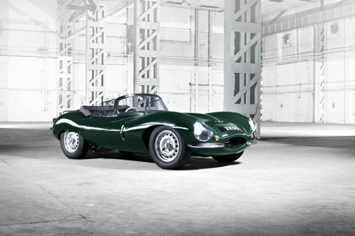 Original Jaguar XKSS - Front Angle - carwitter