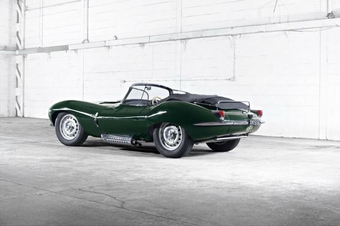 Original Jaguar XKSS - Rear Angle - carwitter