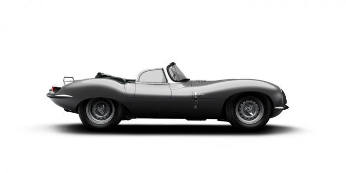 Original Jaguar XKSS - Side - carwitter