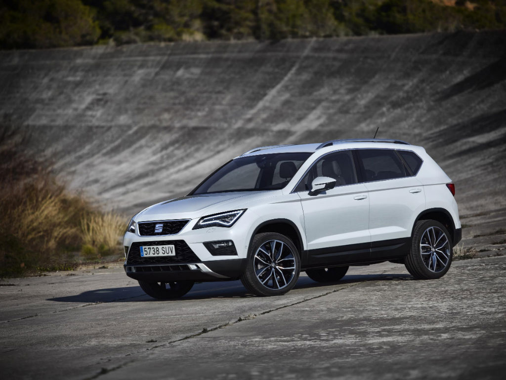 Seat Ateca Front - Seat Introduce The Ateca - Seat Introduce The Ateca