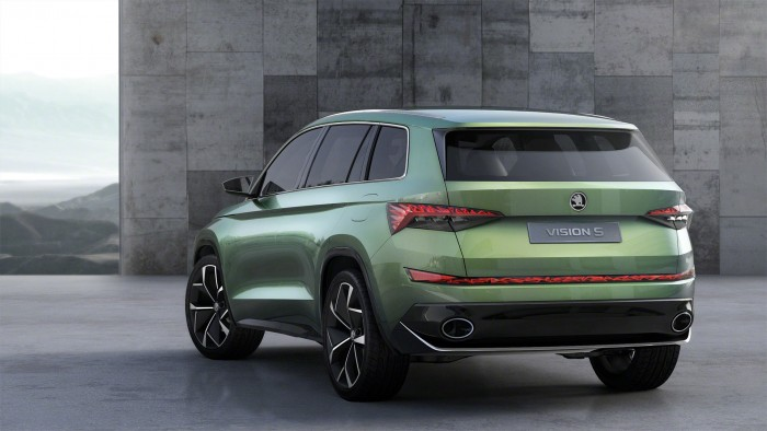 Skoda Vision S Rear View - carwitter