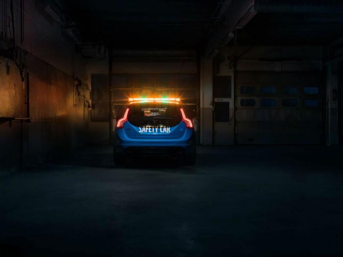 Volvo V60 Polestar WTCC Safety Car - Rear - carwitter