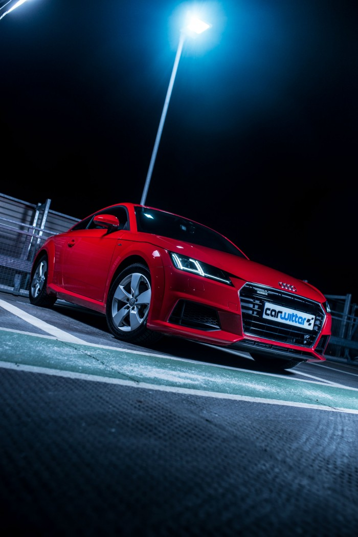 2016 Audi TT 2.0 TFSI Quattro Review - Front Angle Portrait - carwitter