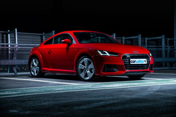 2016 Audi TT 2.0 TFSI Quattro Review - Front Angle - carwitter