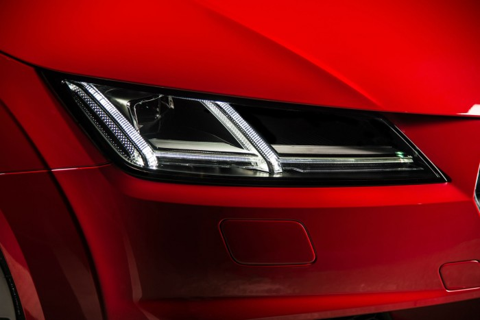 2016 Audi TT 2.0 TFSI Quattro Review - Headlight Detail - carwitter