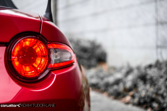 2016 Mazda MX5 160 PS Review - Rear Light - carwitter