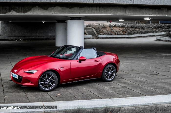 2016 Mazda MX5 160 PS Review Side carwitter 700x465 - 2016 Mazda MX-5 160PS Review - 2016 Mazda MX-5 160PS Review