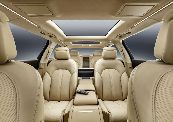 Audi A8 L extended - Interior Seats - carwitter