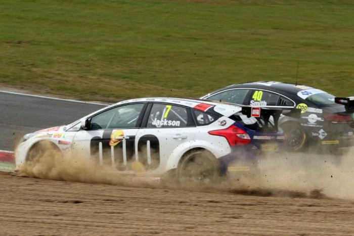 BTCC 16 Brands Hatch Jackson Ford off