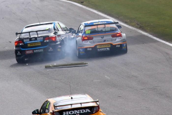BTCC 16 Collard Ingram Race 2 Brands Hatch