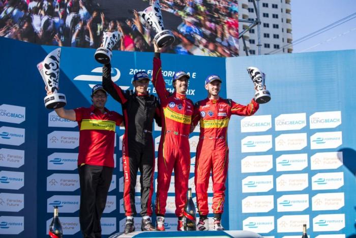 Formula E - Long Beach - Podium