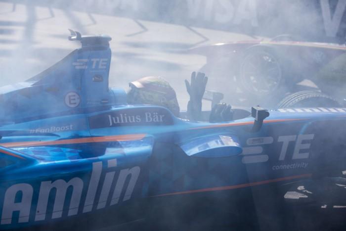 Formula E - Long Beach - Robin Frijns